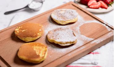 Lor peynirli pancake tarifi