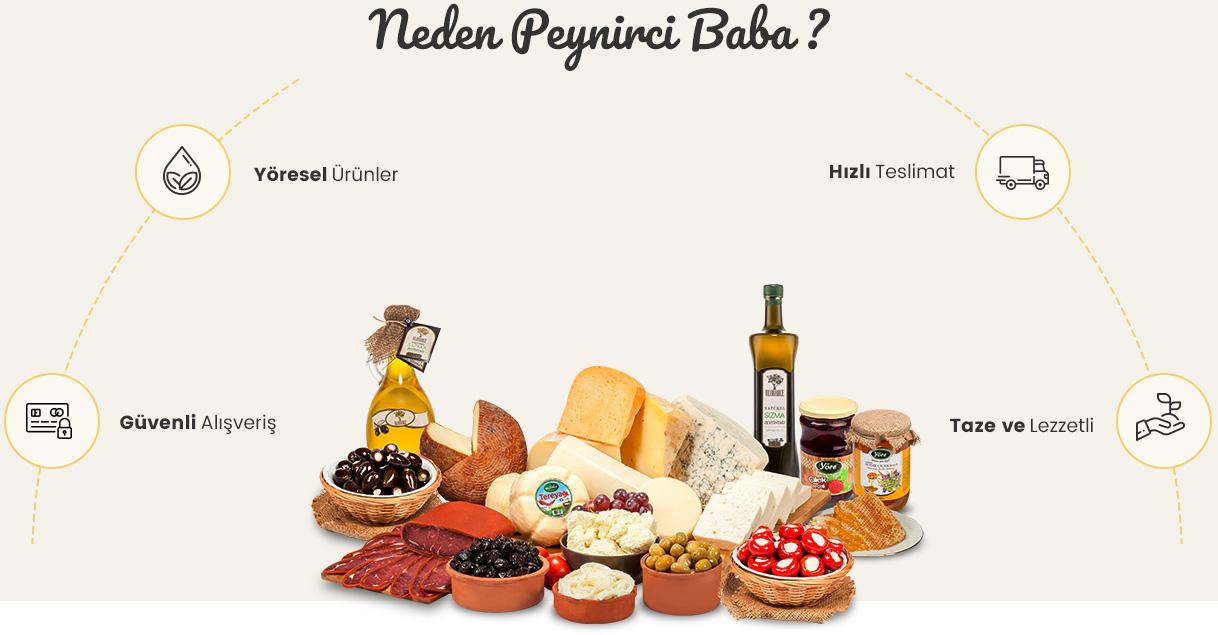 Neden Peynirci Baba?