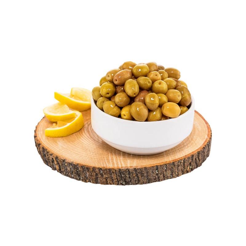 Yöre Hatay Halhalı Taş Kırma Yeşil Zeytin ürünü