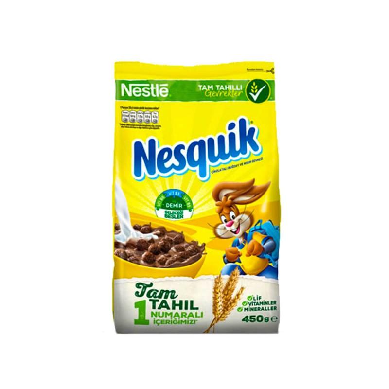 Nestle Nesquik Çikolatalı Mısır Gevreği 450 gr ürünü