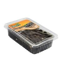 Sosero Peynir Dolgulu Siyah Zeytin 1250 gr Tabak