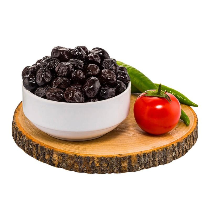 Yöre Gemlik Yıldızı Yağlı Sele Jumbo Siyah Zeytin 750 gr Teneke ürünü