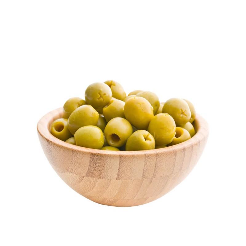 Yöre Domat Kokteyl Çekirdeksiz Yeşil Zeytin 900 gr Cam Kavanoz ürünü