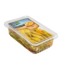 Sosero Peynir Dolgulu Balık Biber 1300 gr Tabak
