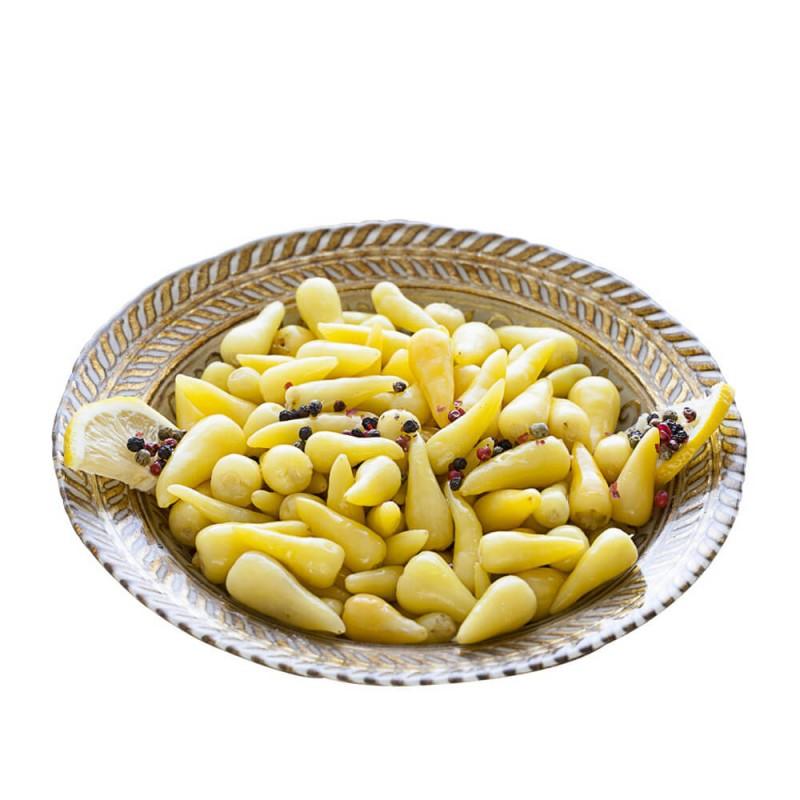 Yöre Biberiye Turşusu Cam Kavanoz 670 gr ürünü