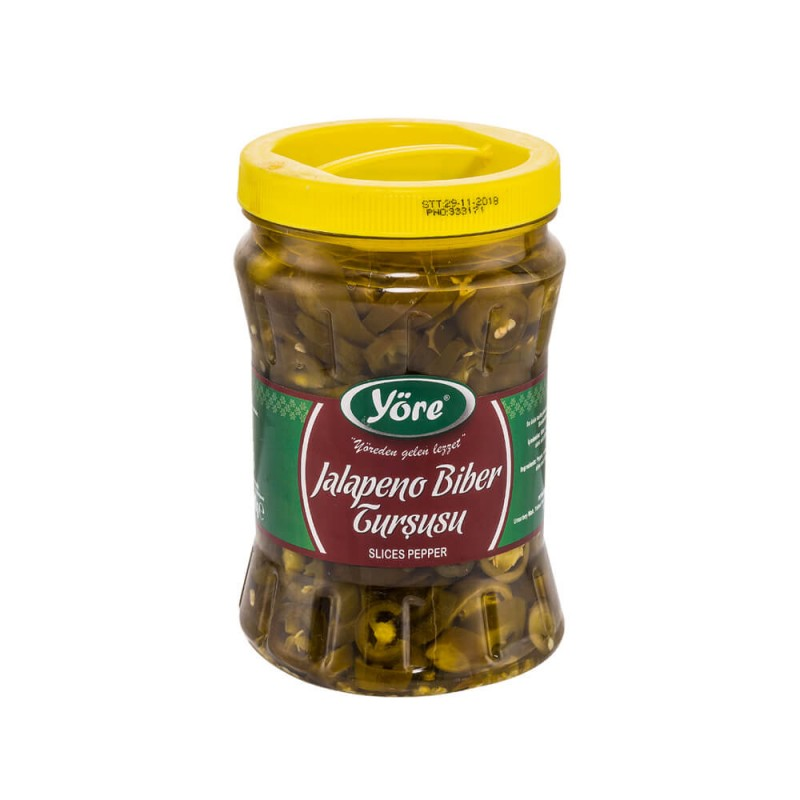 Yöre Jalapeno Biber Turşusu Pet 800 gr ürünü