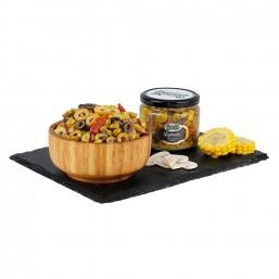 Sosero Egemix Mantarlı Zeytin Salatası 290 gr Cam Kavanoz