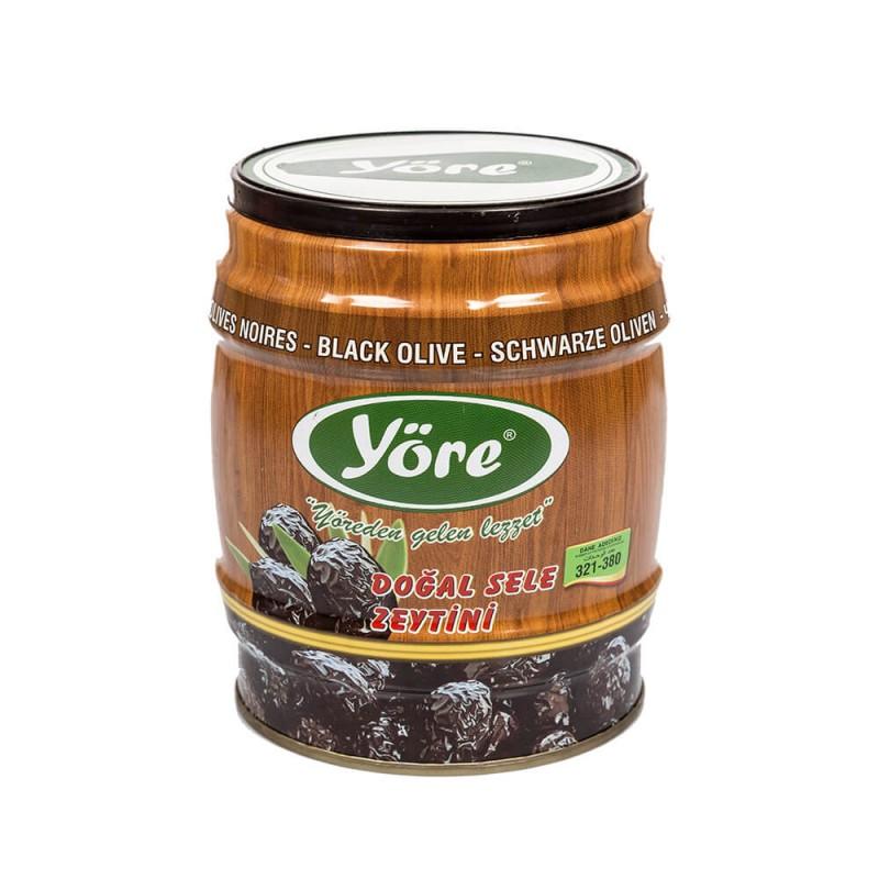 Yöre Gemlik Doğal Sele Siyah Zeytin 750 gr Teneke ürünü