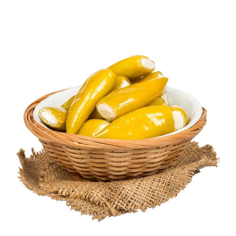 Sosero Peynir Dolgulu Balık Biber 290 gr Cam Kavanoz ürünü