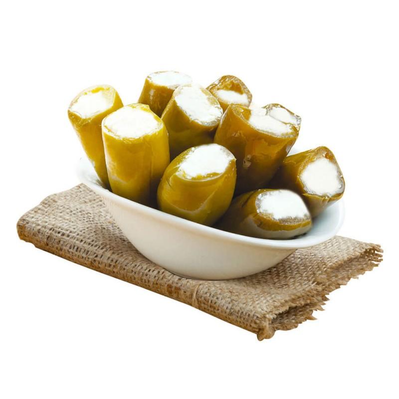 Sosero Peynir Dolgulu Jalapeno Biber 1300 gr Tabak ürünü