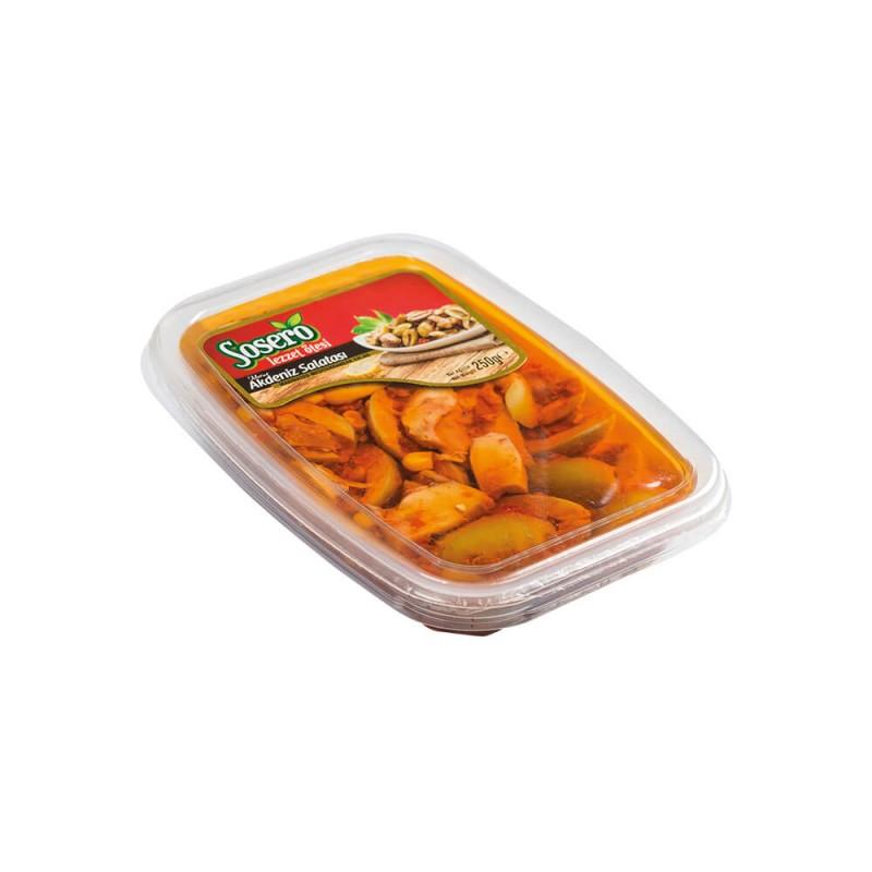 Sosero Akdeniz Salatası 250 gr Vakum ürünü