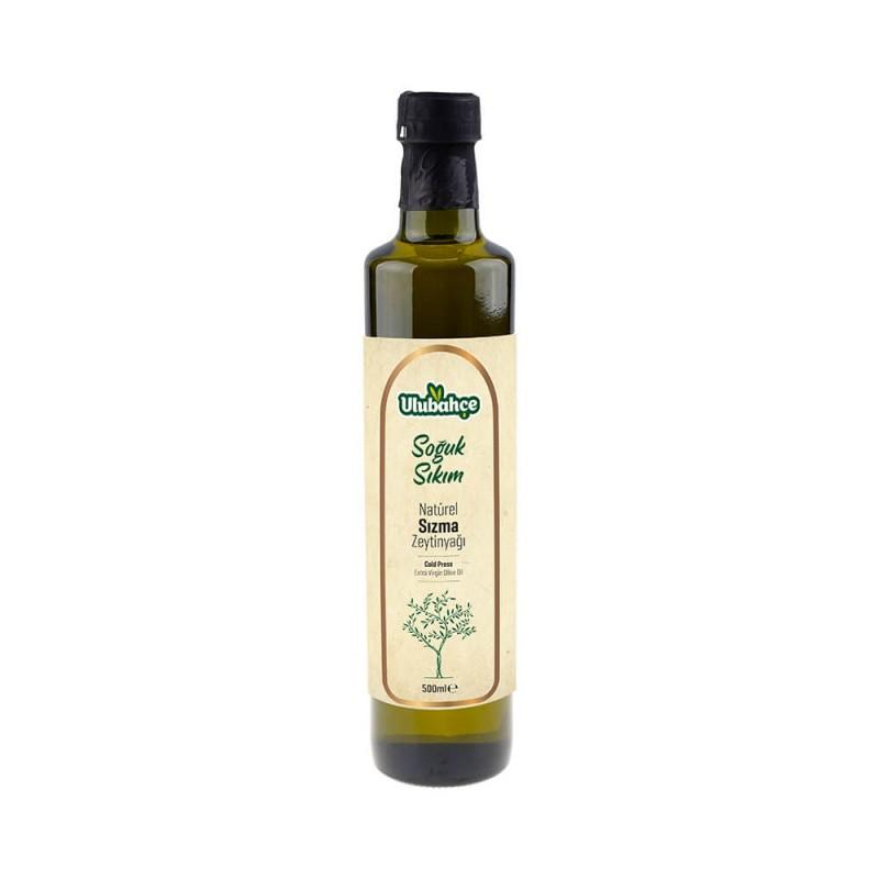 Ulubahçe Soğuk Sıkım Natürel Sızma Zeytinyağı 500 ml ürünü
