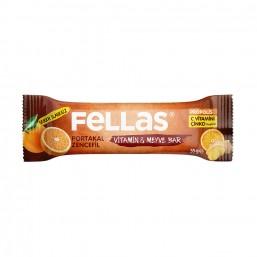 Fellas Portakallı Zencefilli Bar 35 gr