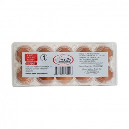 Nazköy Orta Boy Kırmızı Yumurta 10'lu