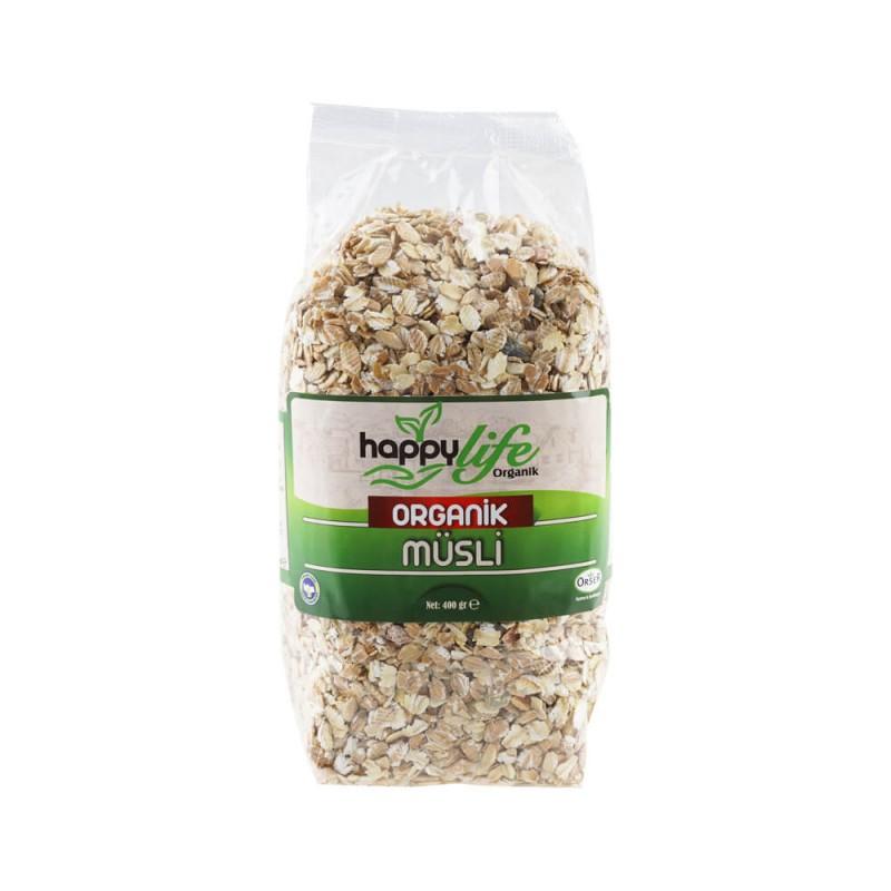 Happy Life Organik Müsli 500 gr ürünü
