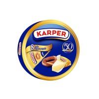 Karper Sade Üçgen Peynir 8 Adet 100 gr