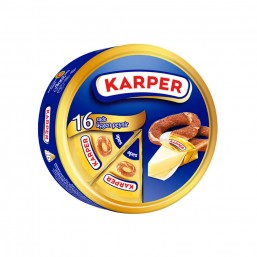 Karper Sade Üçgen Peynir 16 Adet 200 gr