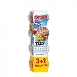 Dardanel Ton Balık 80 gr 3+1