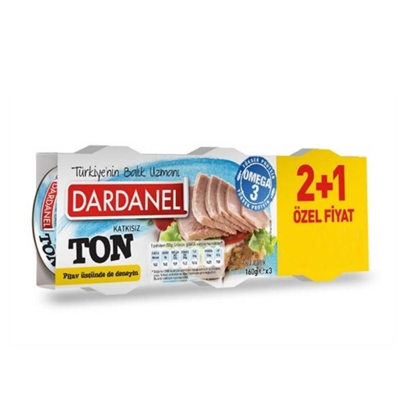 Dardanel Ton Balık 160 gr 2+1 ürünü