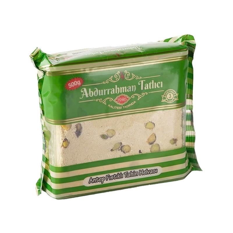 Abdurrahman Tatlıcı Antep Fıstıklı Helva 500 gr ürünü