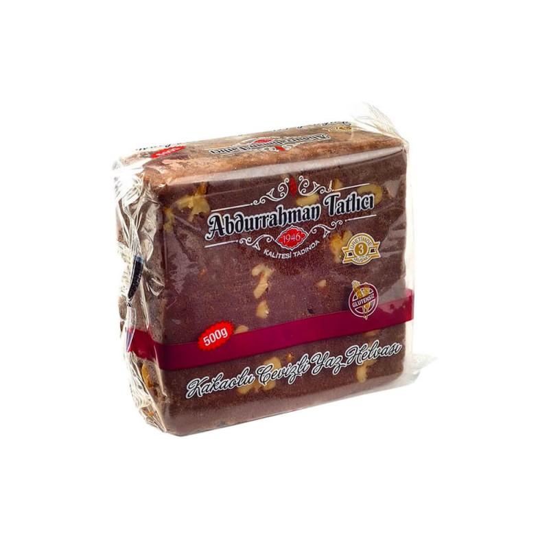 Abdurrahman Tatlıcı Cevizli & Kakaolu Yaz Helvası 500 gr ürünü