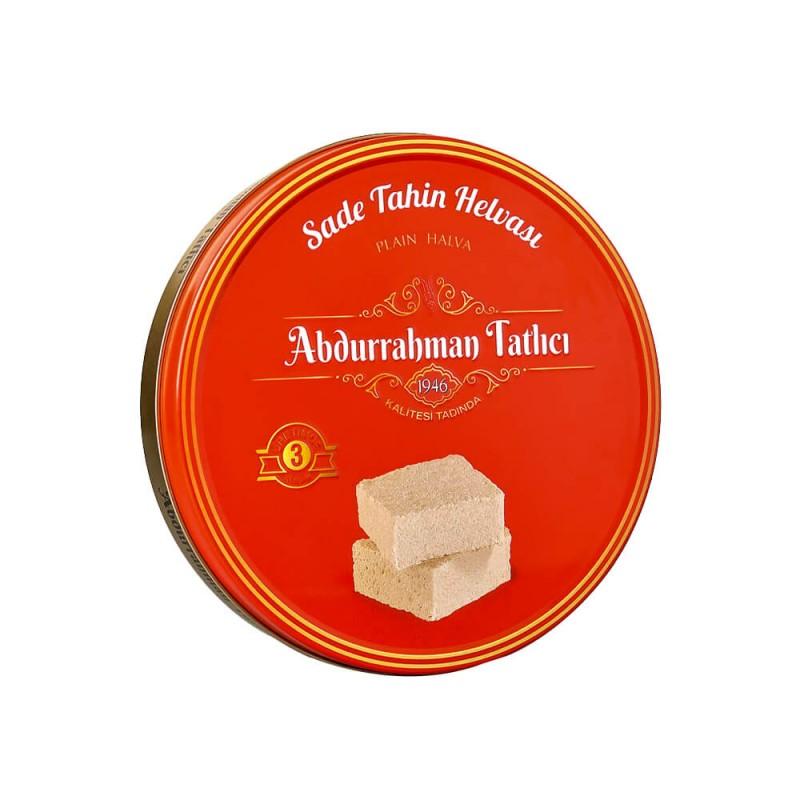 Abdurrahman Tatlıcı Sade Helva 650 gr Teneke ürünü