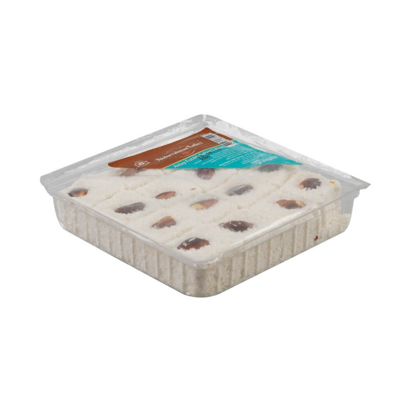 Abdurrahman Tatlıcı Antep Fıstıklı Beyaz Lokum 200 gr ürünü