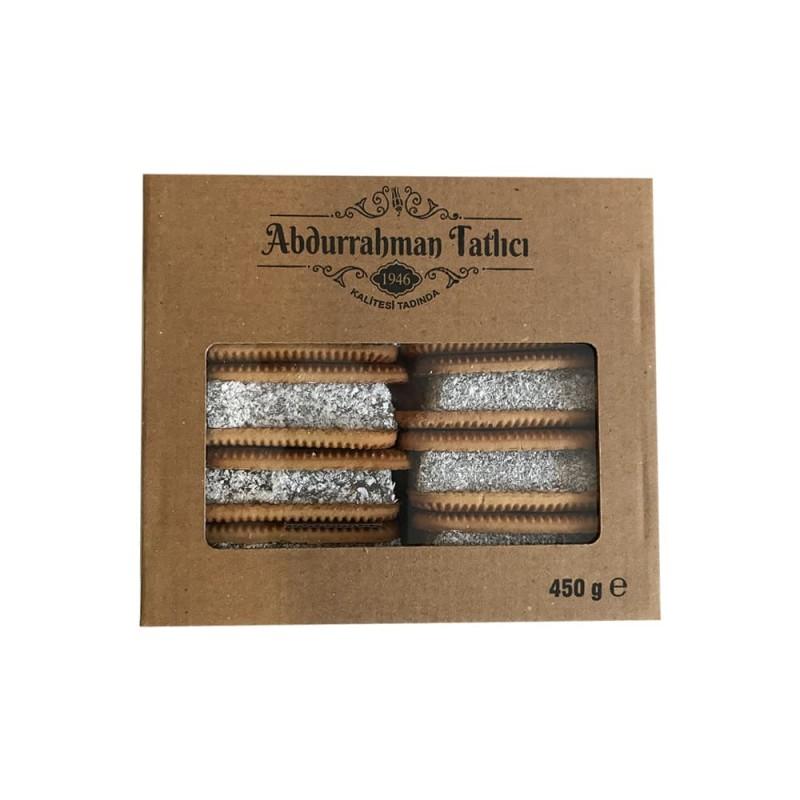 Abdurrahman Tatlıcı Bisküvili Lokum 450 gr ürünü