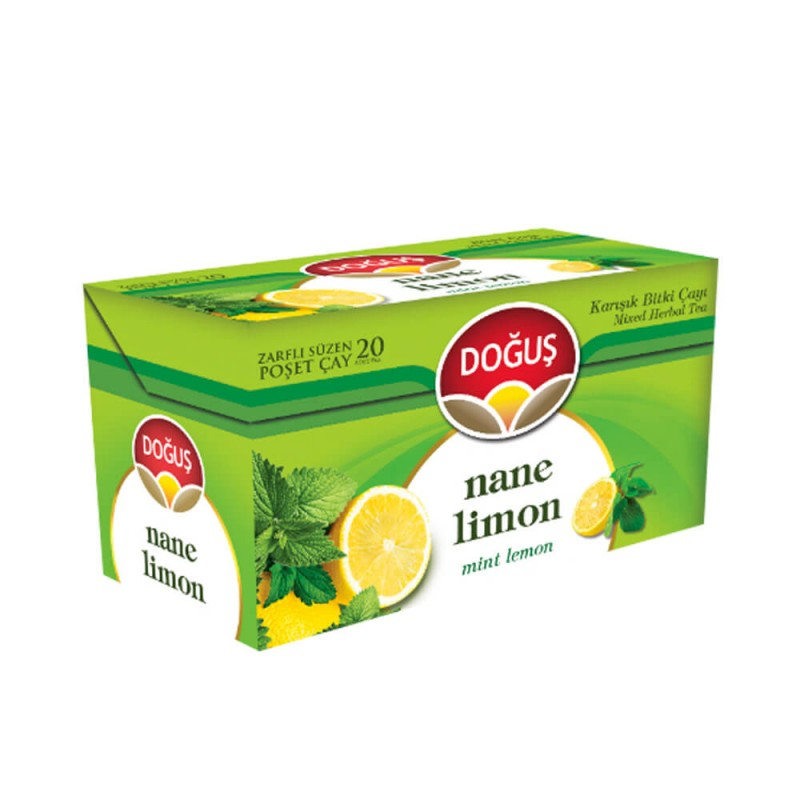 Doğuş Nane Limon Bitki Çayı 20 Adet ürünü