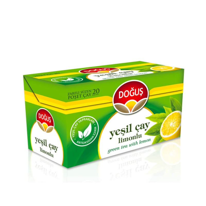 Doğuş Limonlu Yeşil Çay Bitki Çayı 20 Adet ürünü