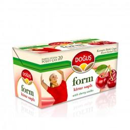 Doğuş Form Kiraz Saplı Meyve Çayı 20 Adet