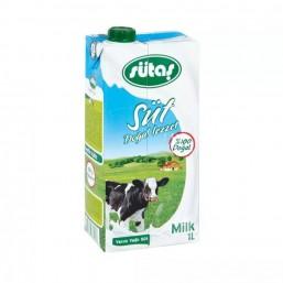 Sütaş Yarım Yağlı Süt 1 lt