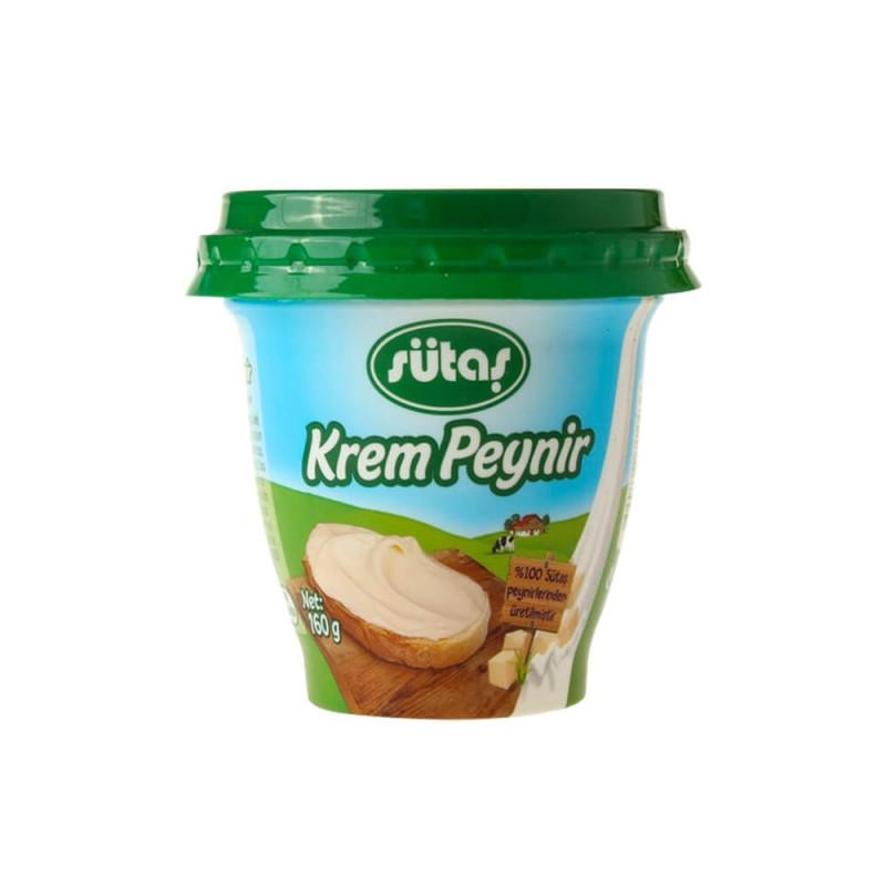 Sütaş Krem Peynir 160 gr ürünü