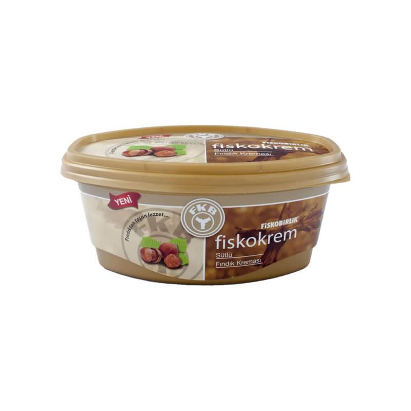 Fiskobirlik Fiskokrem Sütlü Fındık Kreması 400 gr ürünü