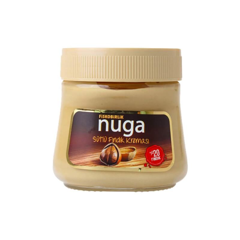 Fiskobirlik Nuga Sütlü Fındık Kreması 350 gr ürünü