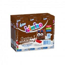 İçim İçimino Çikolatalı Süt 6'lı 180 ml