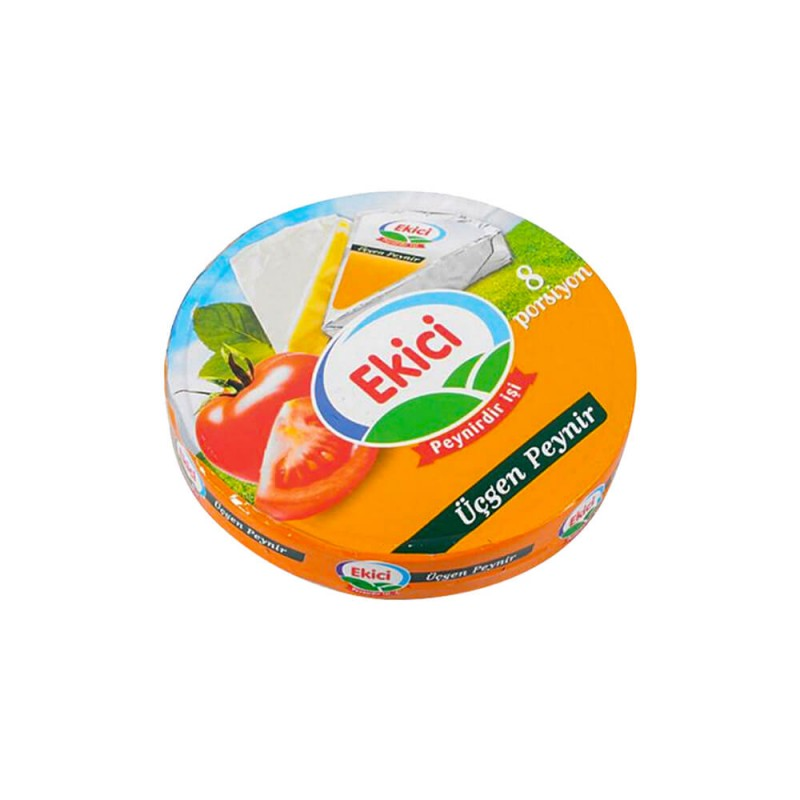 Ekici Üçgen Krem Peynir 8 Adet 100 gr ürünü