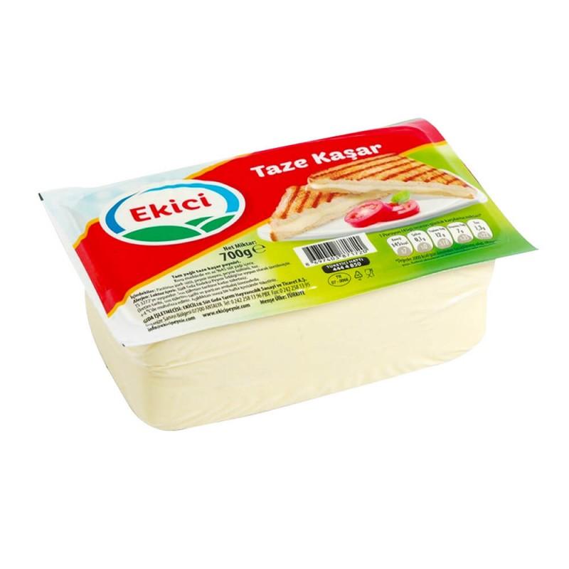 Ekici Tam Yağlı Kaşar Peyniri 600 gr ürünü