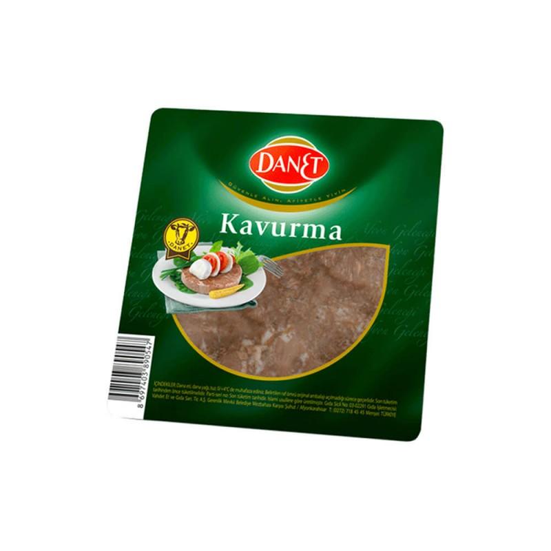 Danet Afyon Usulü Dilim Kavurma 100 gr ürünü