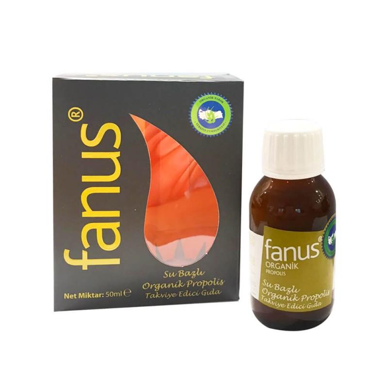 Fanus Su Bazlı Organik Propolis 50 ml ürünü