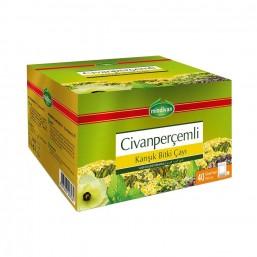 Mindivan Civan Perçemli Karışık Bitki Çayı 40'lı