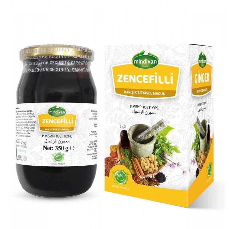 Mindivan Zencefilli Macun 350 gr ürünü
