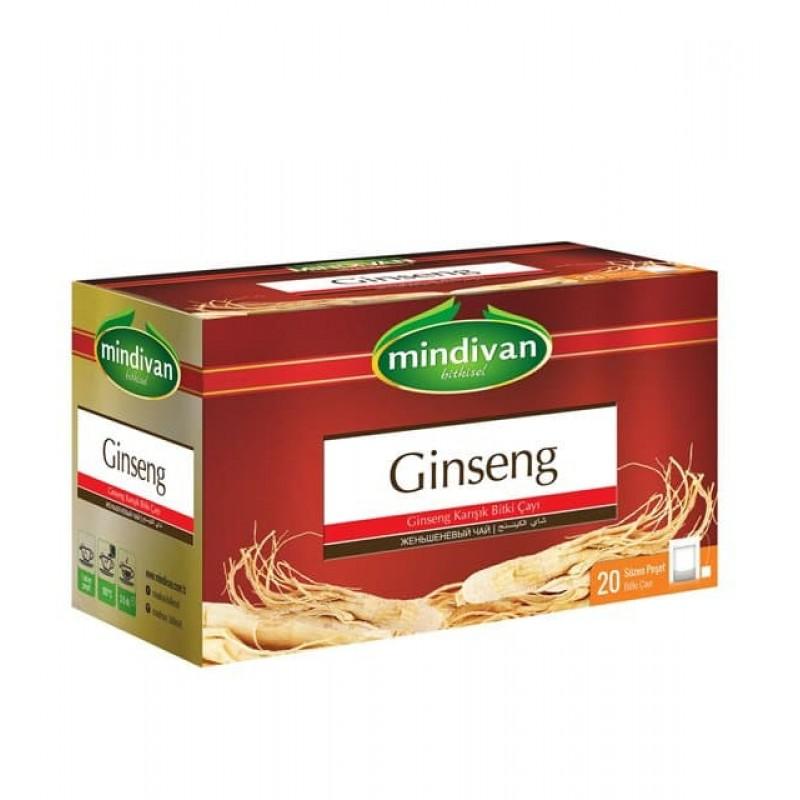 Mindivan Ginseng Çayı 20'li ürünü