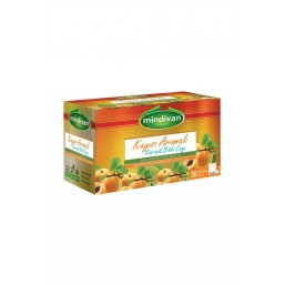 Mindivan Kayısı Aromalı Form Çayı 20'li