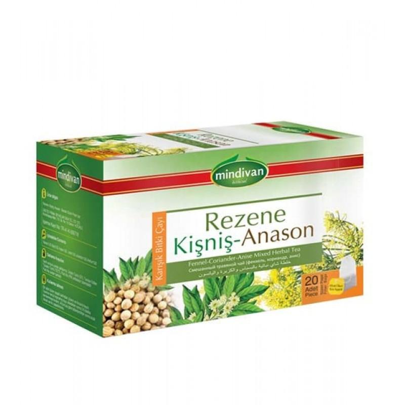 Mindivan Rezene Anason Kişniş Çayı 20'li ürünü