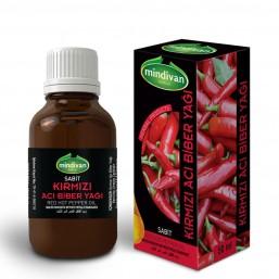 Mindivan Kırmızı Acı Biber Yağı 50 ml