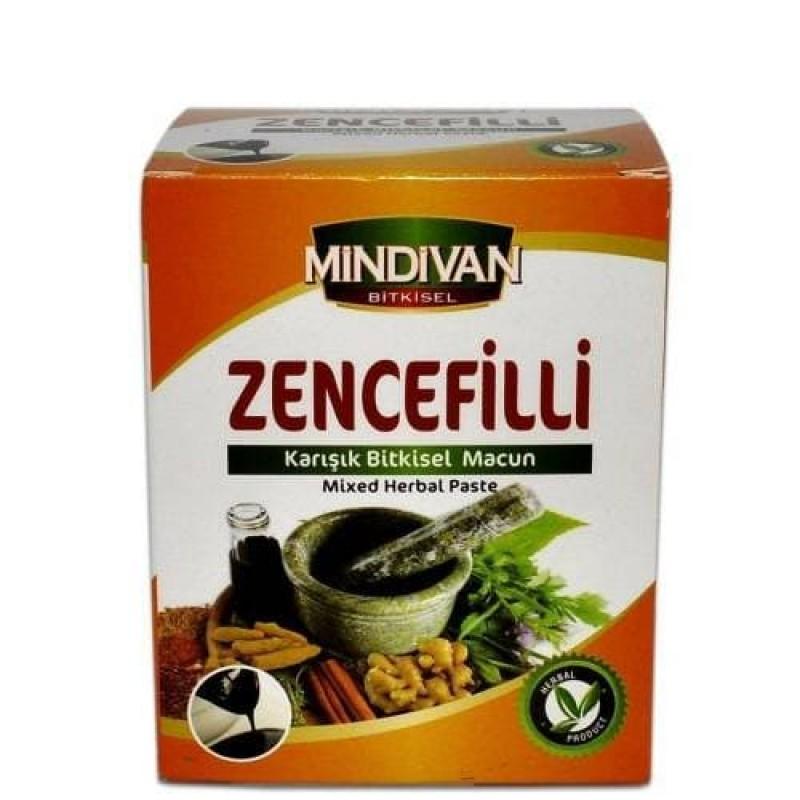 Mindivan Zencefilli Macun 230 gr ürünü