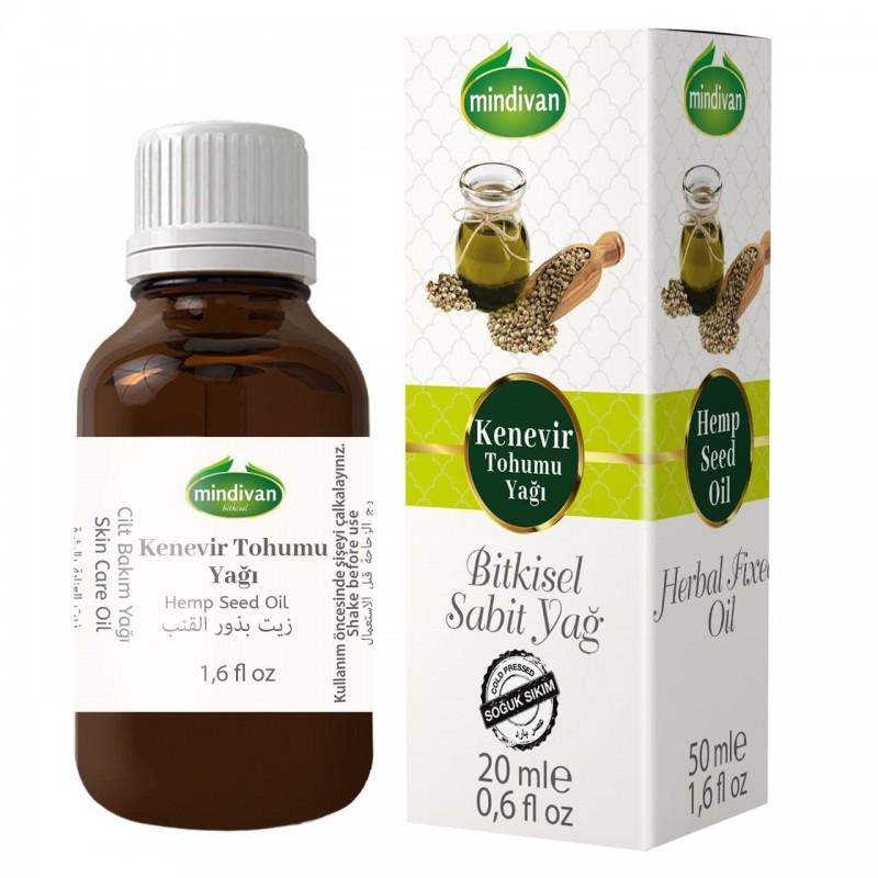 Mindivan Kenevir Tohumu Yağı 50 ml ürünü