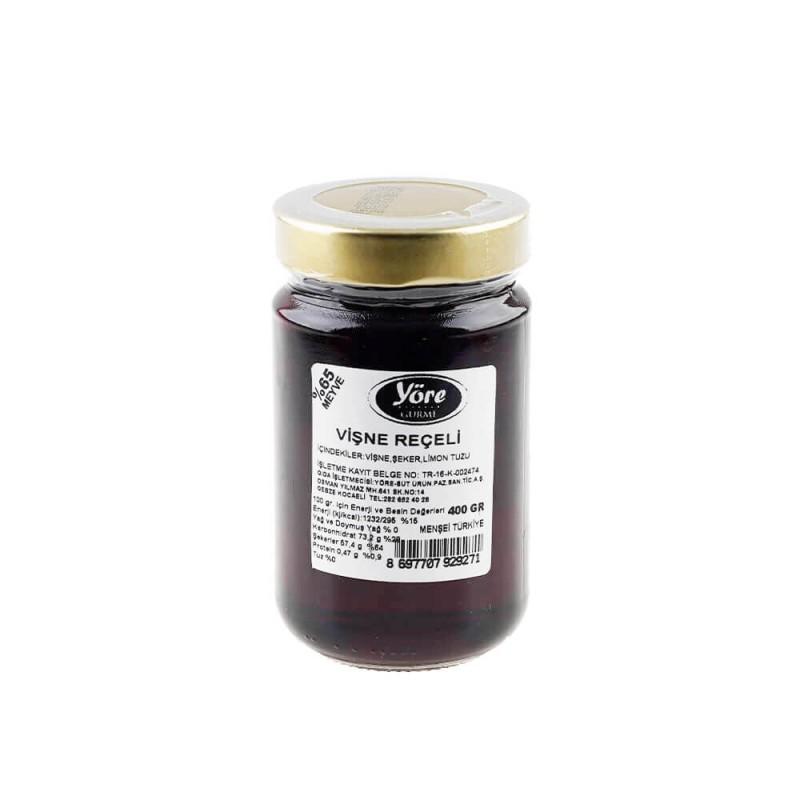 Yöre Gurme Vişne Reçeli 400 gr ürünü