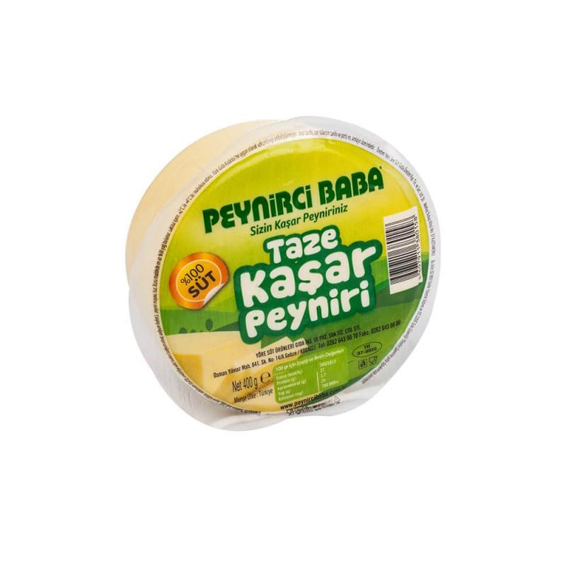Peynirci Baba Taze Kaşar Peyniri 400 gr ürünü